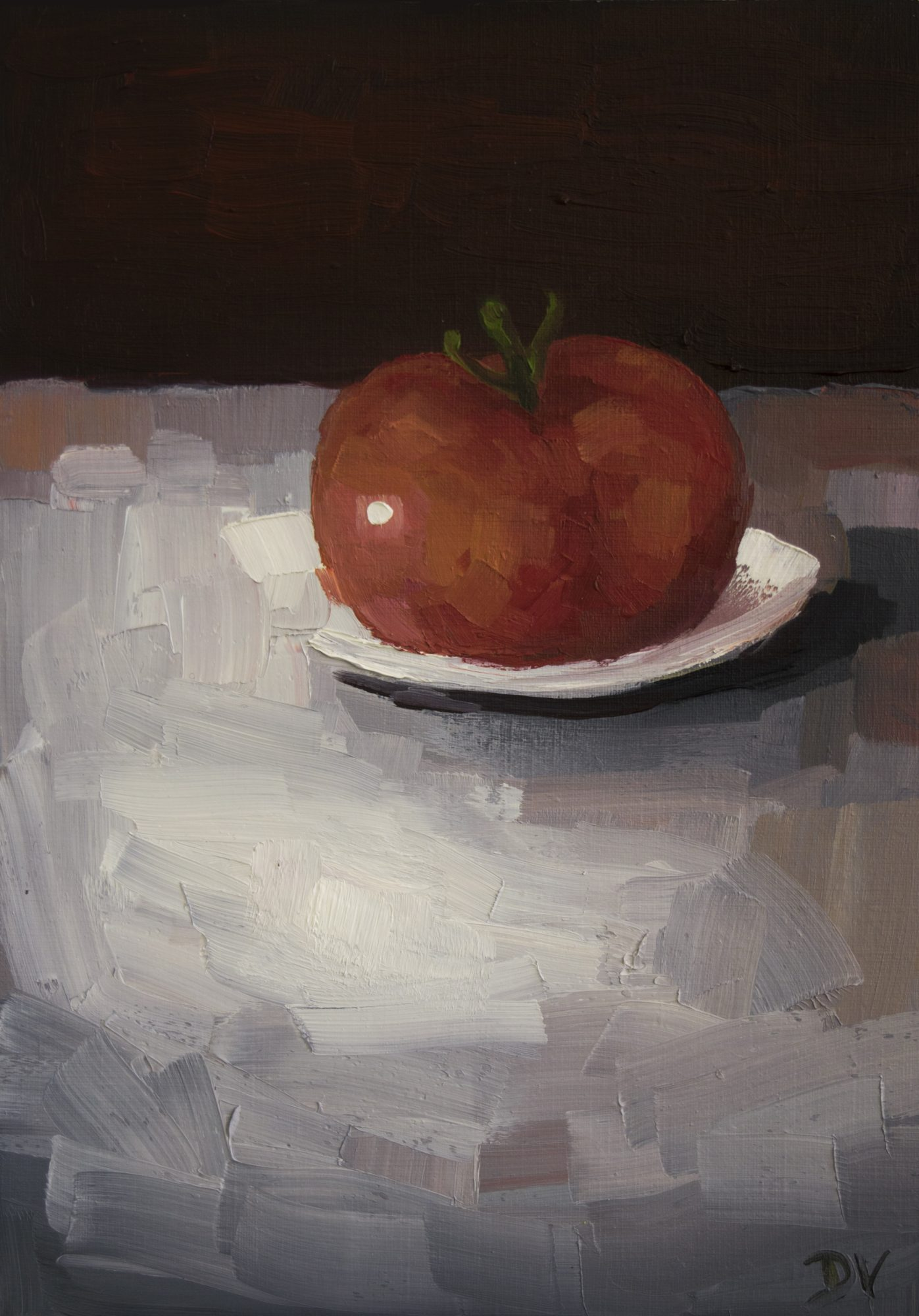 Tomato With Plate A