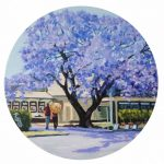 The Jacaranda in the Main Street  2 of 2