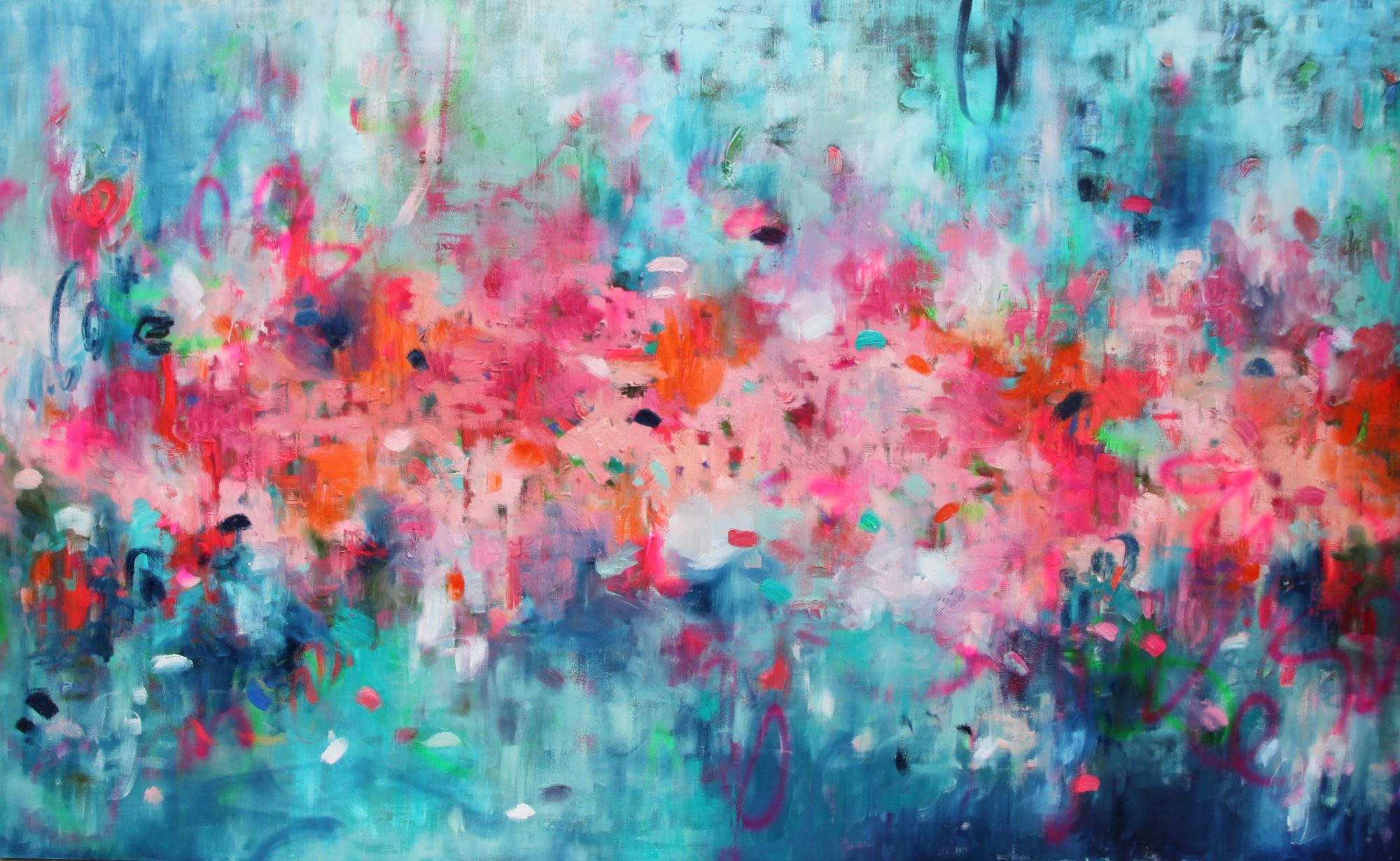 Belinda Nadwie Art Abstract Painting Only With A Pure Heart