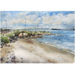 La Perouse Beach – Original Watercolour