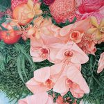 A LIFE TIME JOURNEY – Orchids, Oranges And Chrysanthemums – LTD ED GICLEE PRINT