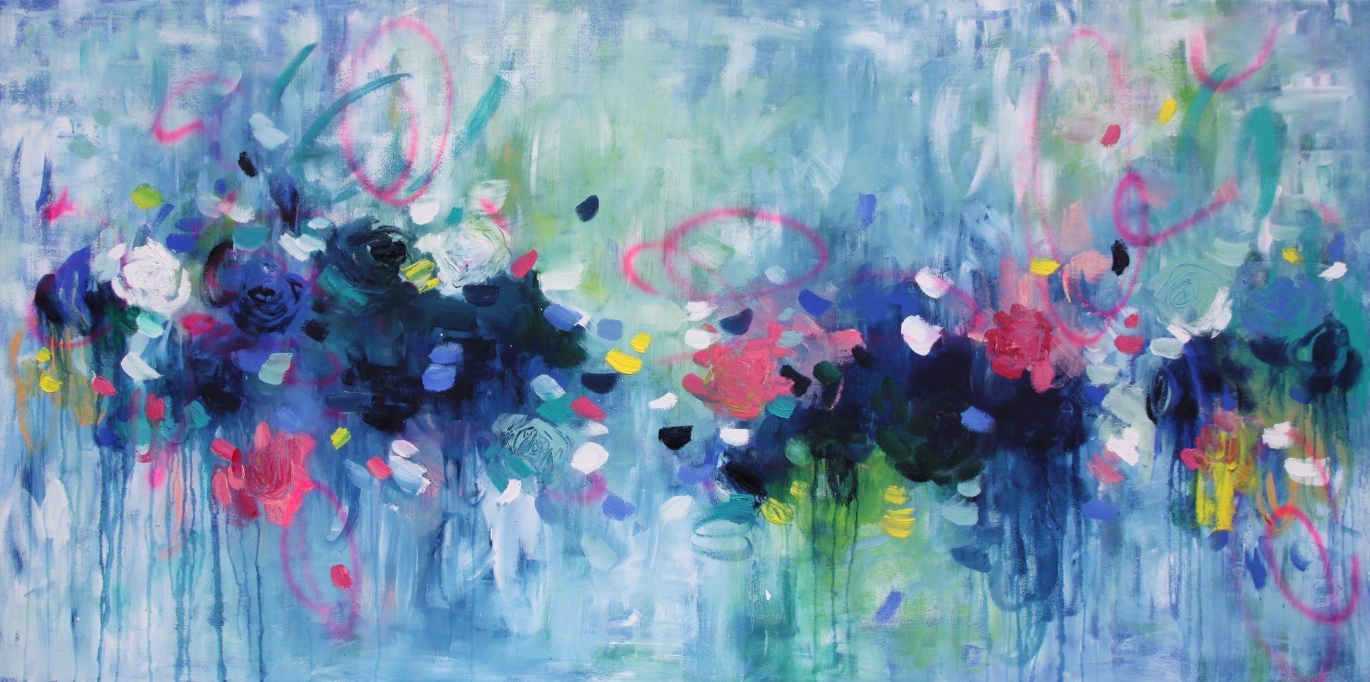 Belinda Nadwie Art Abstract Painting Sunday Mornings