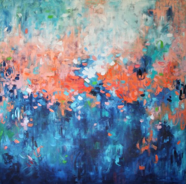 Belinda Nadwie Art Abstract Painting Within