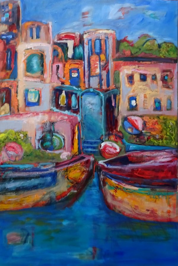 Boats On The River Ganges2