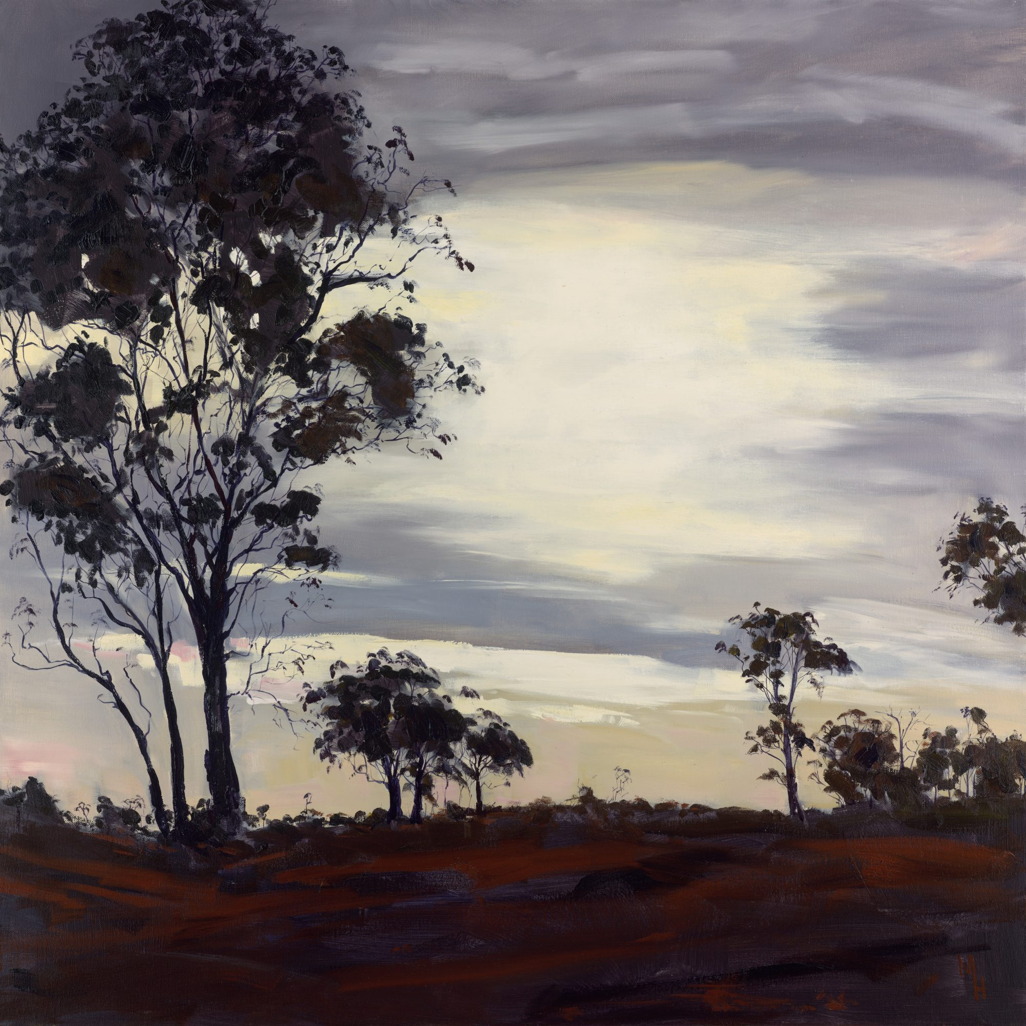 M Howse 039 Sunrise Over Carinya 30cm Proof