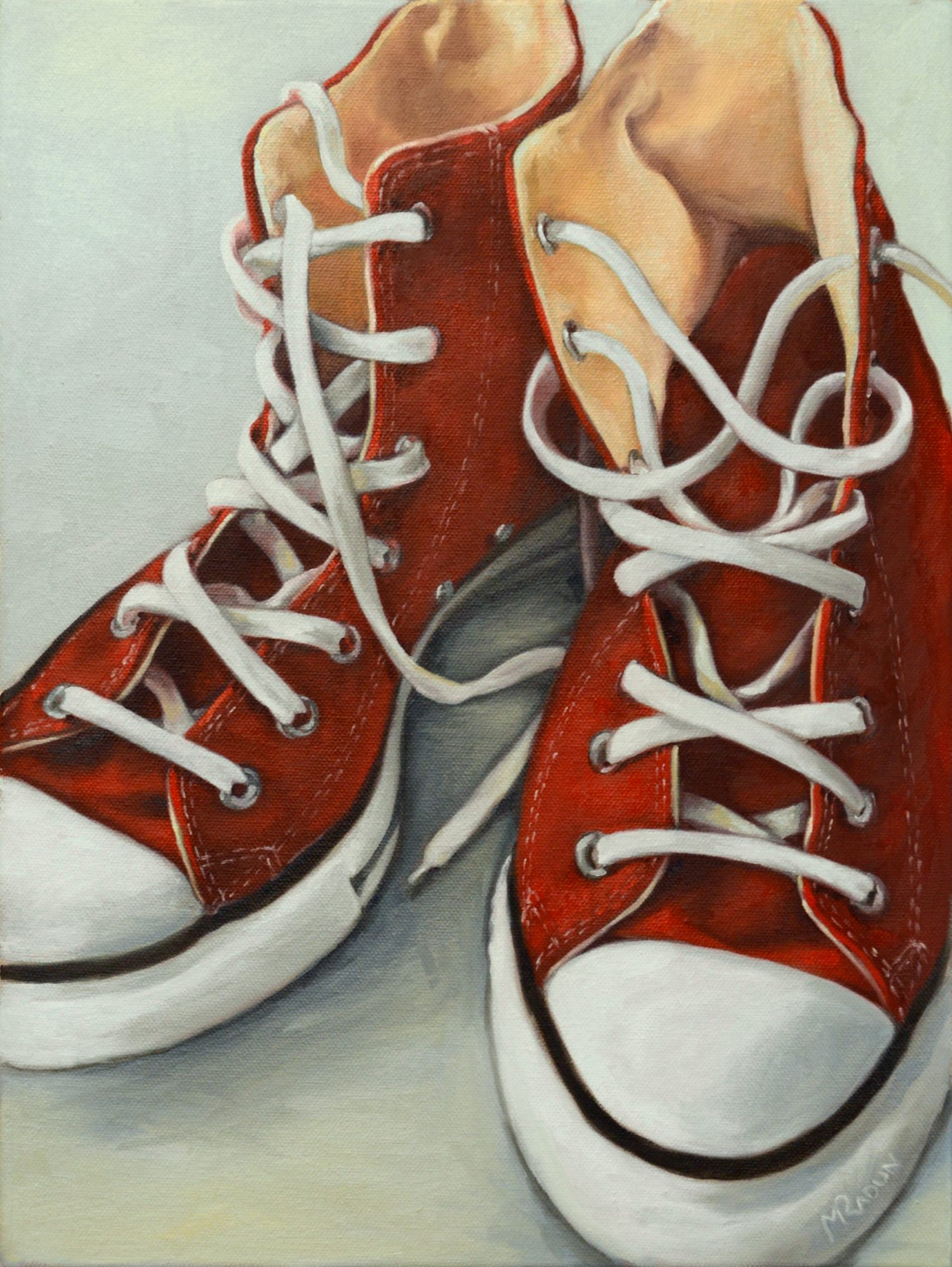 Red Converse 2