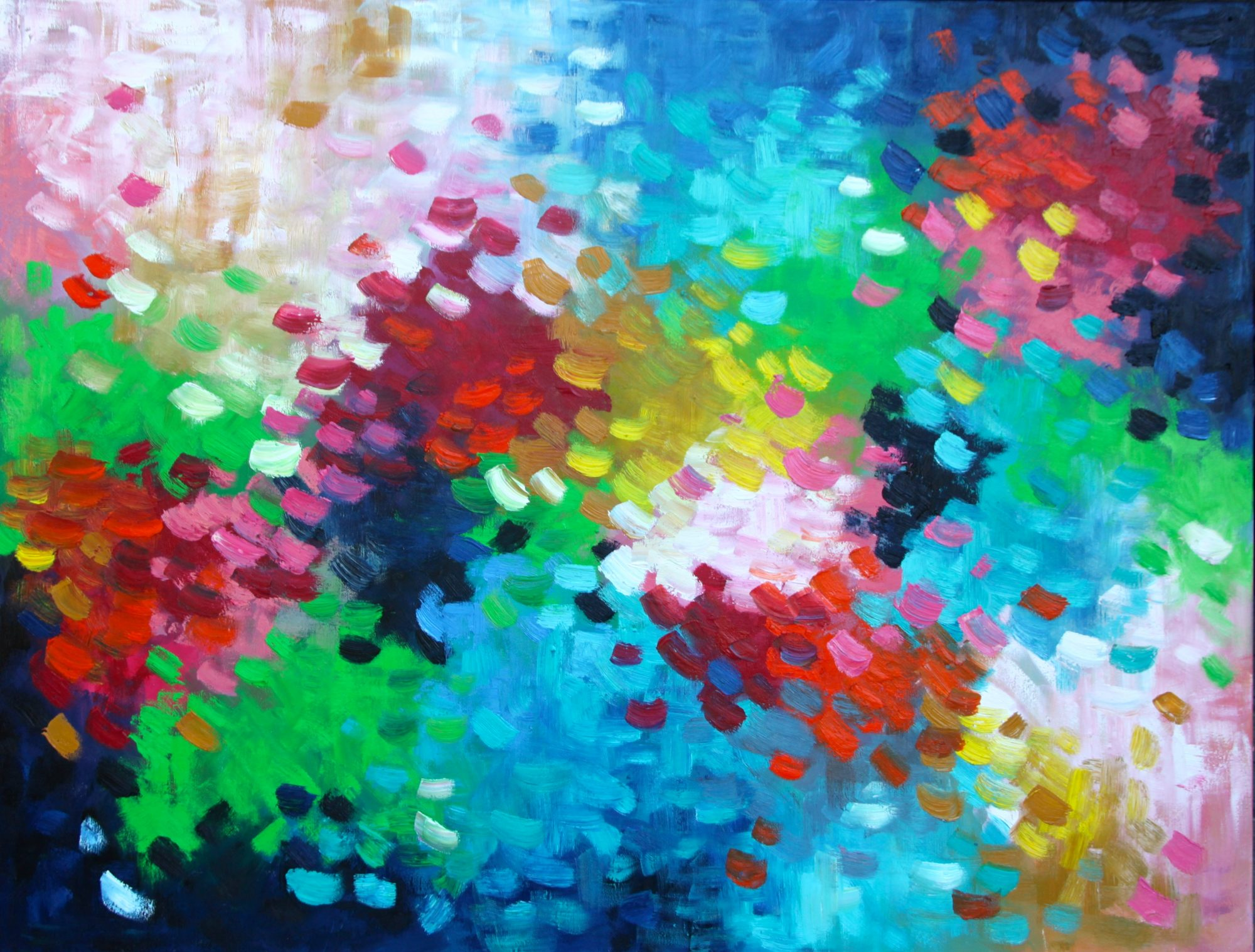 Belinda Nadwie Art Abstract Painting You've Got This