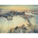Sydney Harbour – Original Watercolour