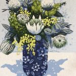 Wattle in Chintz (small) (sold)