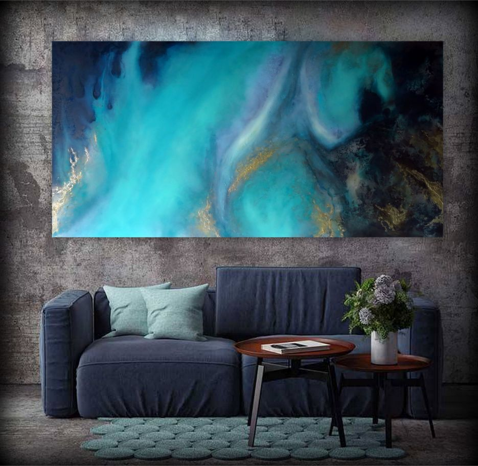 Dusk Waters Painting For Sale By Petra Meikle De Vlas3