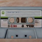 Mixed tape vol 2 – Retro series Ltd Ed CANVAS print