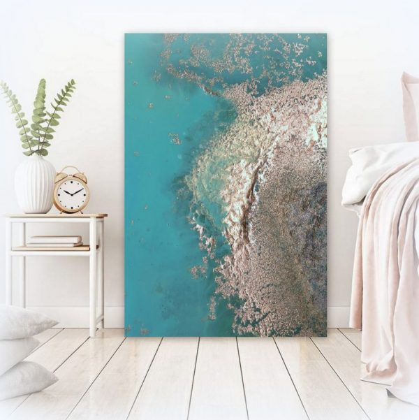 """paradise Cove"" Ocean Art Canvas Print For Sale By Petra Meikle De Vlas7"