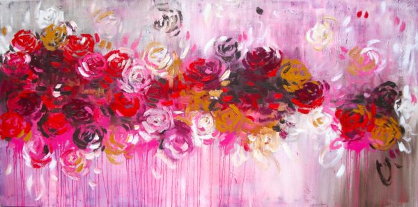 Belinda Nadwie Art Abstract Painting Love You Most
