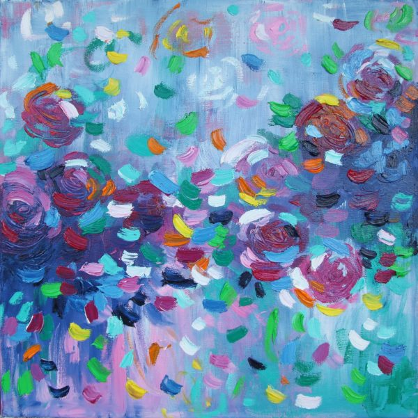 Belinda Nadwie Art Abstract Painting Moments Like These