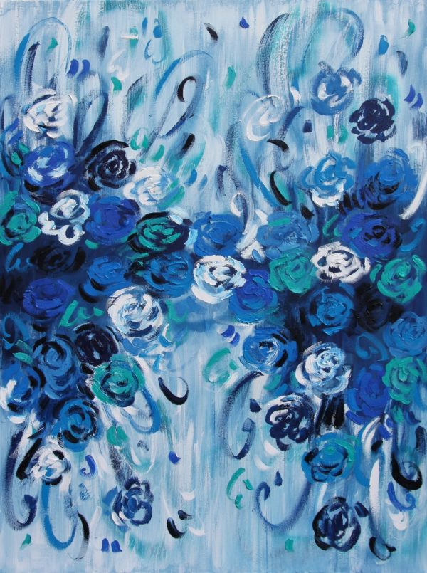 Belinda Nadwie Art Abstract Painting What We Have Become