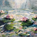 LIGHT UPON WATER LILIES