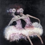 Ballerinas Follies Ltd Ed Print Canvas and Paper