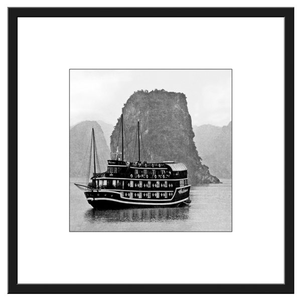 Pcb1003sq Ha Long Bay Framed Border