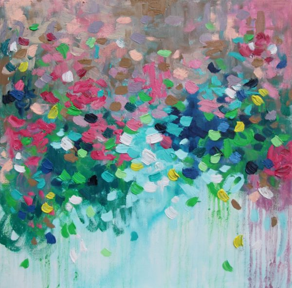 Belinda Nadwie Art Abstract Painting Sydney Artist You Bring Out The Best In Me
