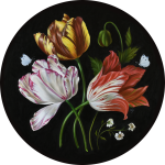 Three Tulips – Homage to the Dutch Master