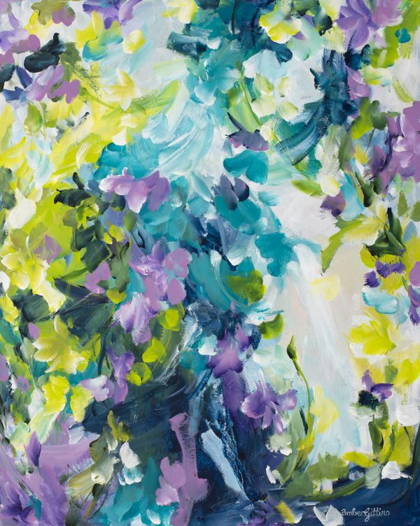Treasure The Moments By Amber Gittins Abstract Artist