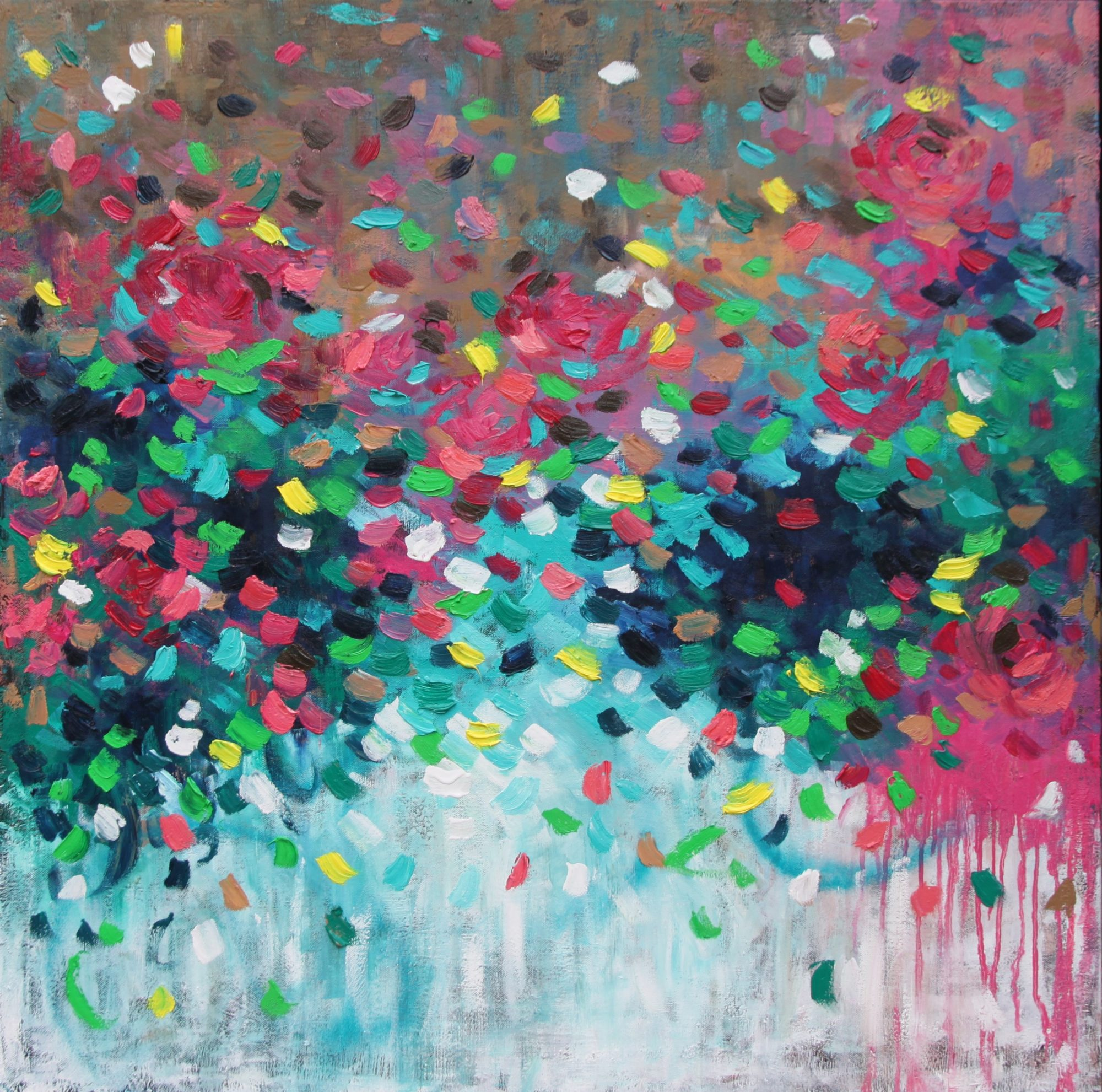 Belinda Nadwie Art Abstract Painting Sydney Artist You Make Me Love You