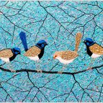Blue Wrens – SOLD