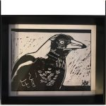 Trio of Magpies Ltd Ed Print