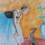 Italian Greyhound & Ballerina