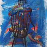 Blue Nude on a Chair
