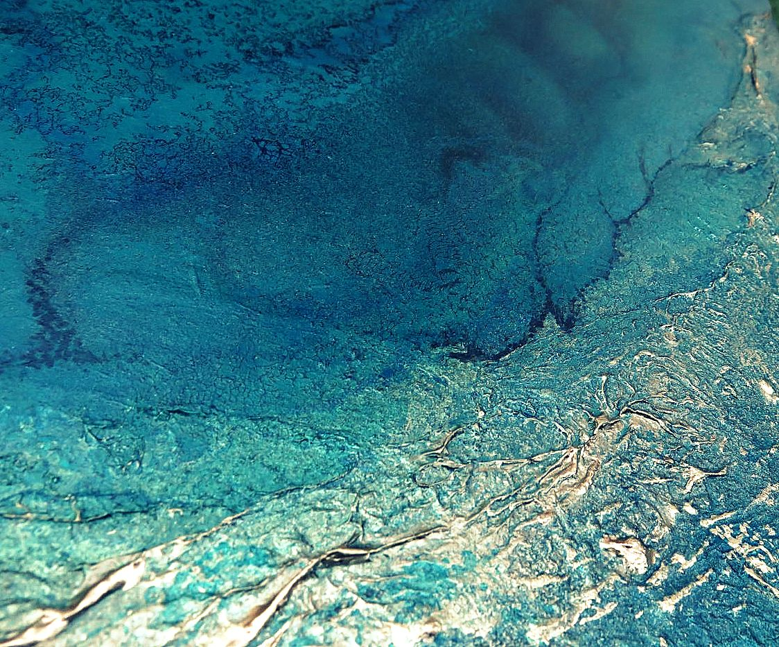Teal Waters Painting By Petra Meikle De Vlas.jpg9 Copy