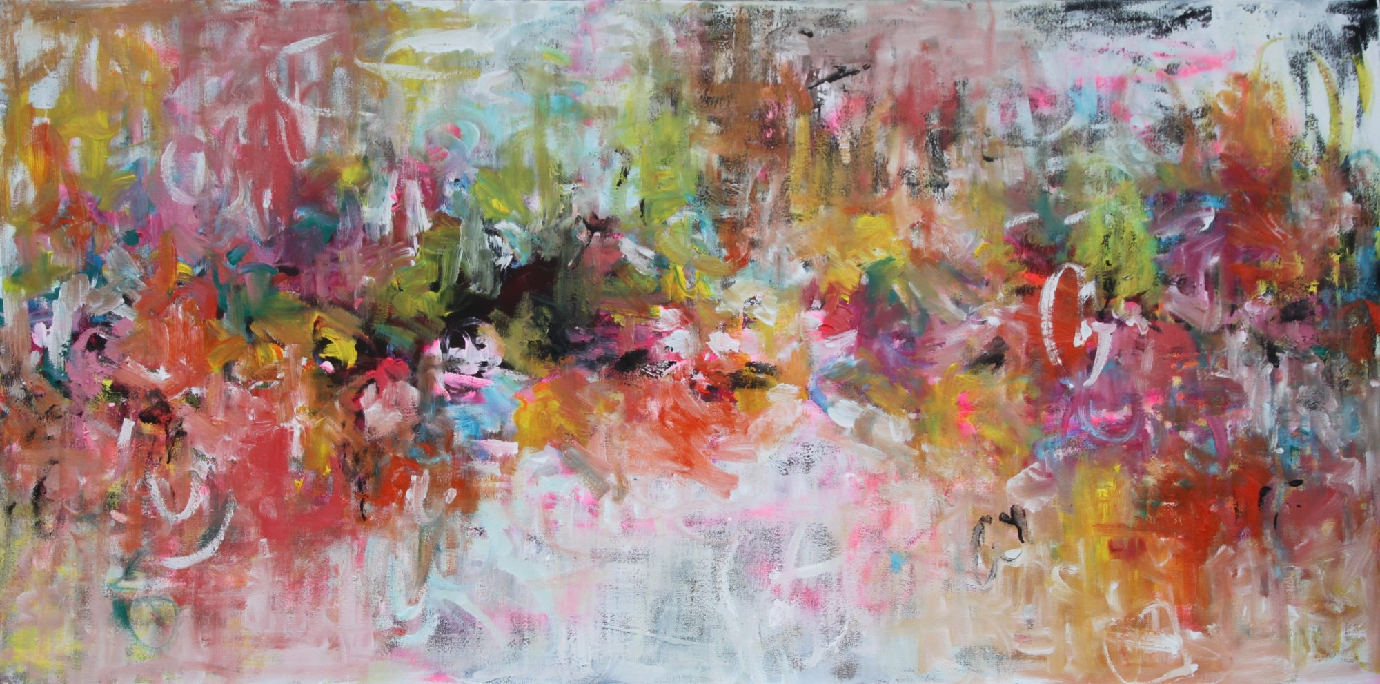 Belinda Nadwie Art Abstract Painting Simply Dreamy