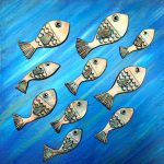 Fish School No1 3D Art