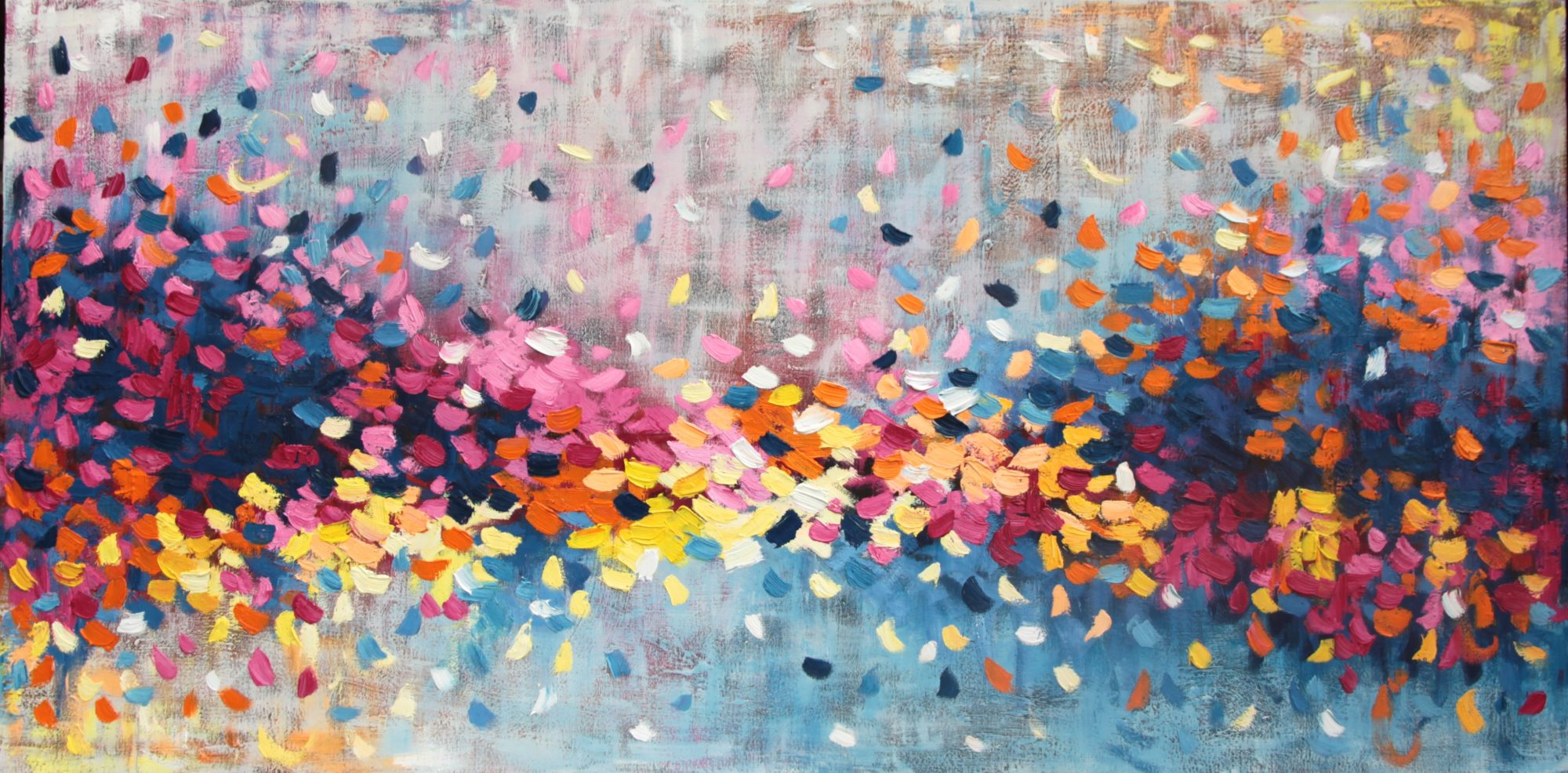 Belinda Nadwie Art Abstract Painting A Gentle Touch 2