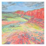 Glen Helen Gorge – Painted Landscape Series