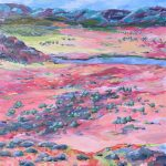 Larapinta – Painted Landscape Series