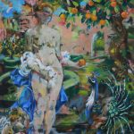 Venus in the Orange Grove