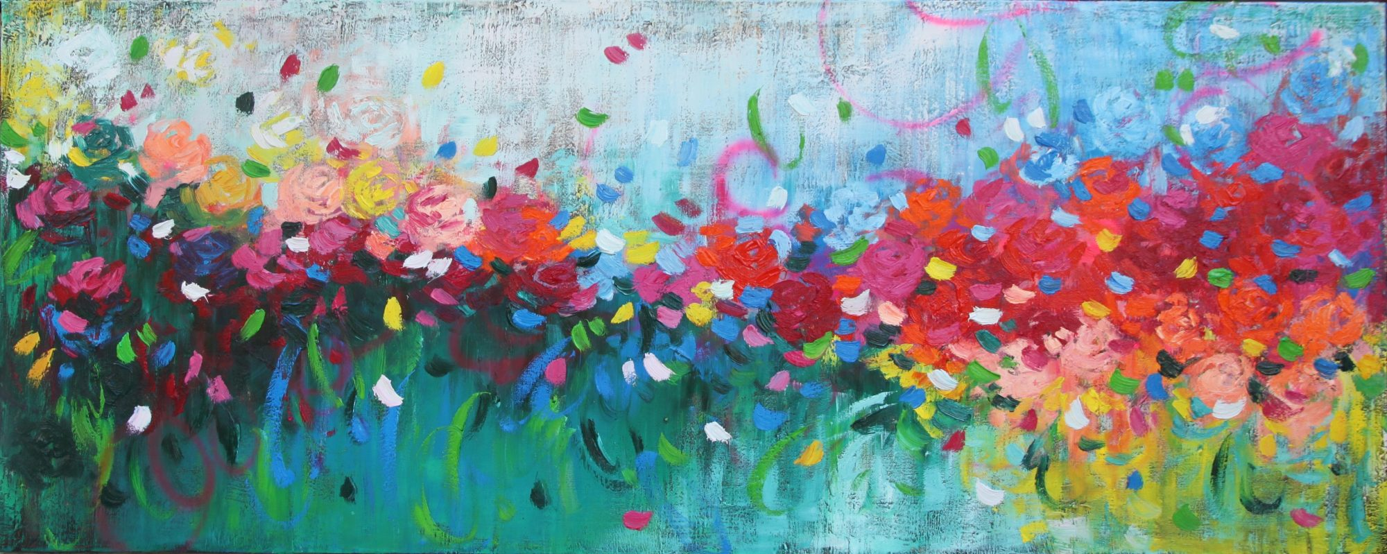 Belinda Nadwie Art Abstract Painting Sydney Artist My Love For You
