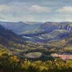 Over the Wolgan Valley