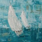 White sails 2 – sailing boats