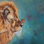 Gentle Beast – Lion and Butterfly
